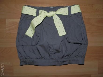 Продам стильную юбку-бочонок Kidkanai р.104 б/у в идеальном состоянии. В поясе е. Южний, Одеська область. фото 2