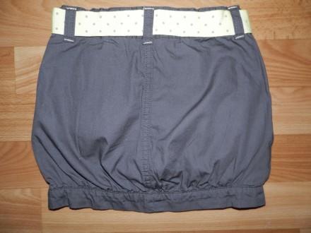 Продам стильную юбку-бочонок Kidkanai р.104 б/у в идеальном состоянии. В поясе е. Южний, Одеська область. фото 3