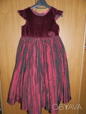 Продам нарядное платье Tigerlily от Debenhams р.6 (на р.116-128) б/у в отличном . Южный, Одесская область. фото 1