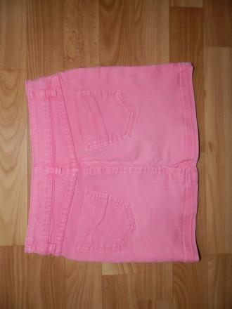 Продам джинсовую мини-юбку Lemmi на р.134-140 (по бирке 134, но подойдёт и на бо. Южный, Одесская область. фото 3