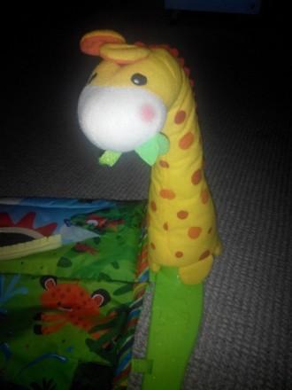 """Продам развивающий детский коврик """"Джунгли"""" , 6м + музыкальный две игрушки, рыбк. Кам'янське, Дніпропетровська область. фото 5"""