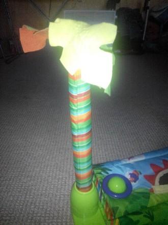 """Продам развивающий детский коврик """"Джунгли"""" , 6м + музыкальный две игрушки, рыбк. Кам'янське, Дніпропетровська область. фото 4"""
