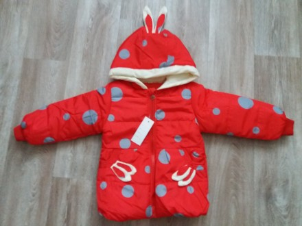 Демисезонная куртка для девочки 1-4 года р.80,86,92,98,104.. Харьков. фото 1