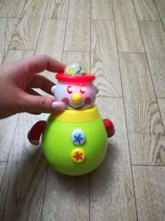 Клоун неваляшка музыкальный. Пишите вышлю видео на вайбер. Киев, Киевская область. фото 3