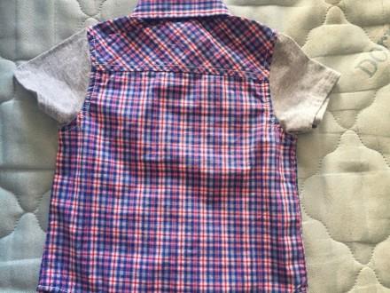 Рубашка на мальчика, размер 86 см., на 12 месяцев, хлопок. Київ, Київська область. фото 2