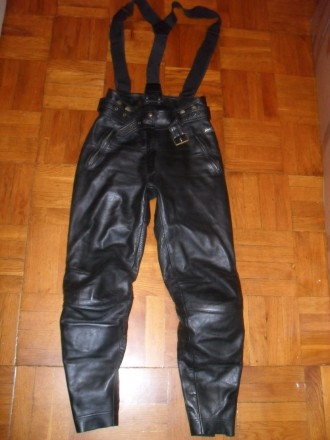 Мото брюки POLO женские кожаные , размер 36-38 ( S ). Киев. фото 1
