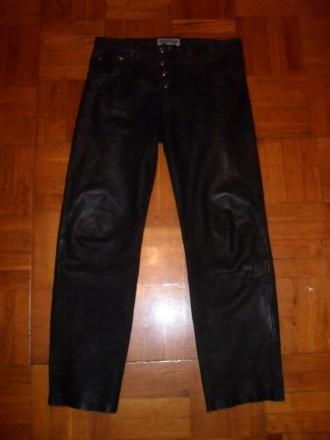 Брюки мужские кожаные ENJOY , размер 33 ( L ) - 50/52. Киев. фото 1