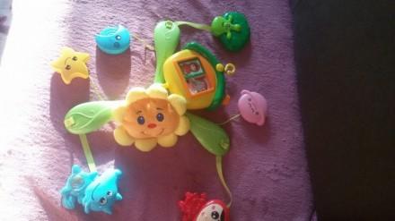 """Продам мобиль """"Маша и Медведь """" . Пользовались только в кроватке , все в отлично. Полтава, Полтавська область. фото 3"""