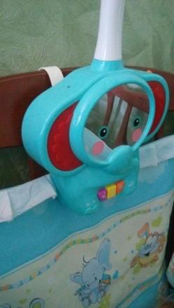 Супер мобиль Слоник. Есть подставка как для стационарной игрушки. Работает на ба. Київ, Київська область. фото 4