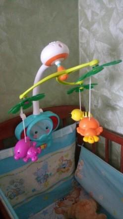 Супер мобиль Слоник. Есть подставка как для стационарной игрушки. Работает на ба. Київ, Київська область. фото 5