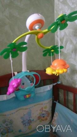 Супер мобиль Слоник. Есть подставка как для стационарной игрушки. Работает на ба. Київ, Київська область. фото 1