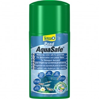Tetra Pond AquaSafe 500 мл - для подготовки свежей воды и после дождей. Ковель. фото 1