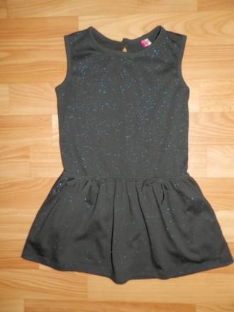 """Продам стильное французское """"маленькое чёрное платье"""" ORCHESTRA для модницы 3-4х. Южный, Одесская область. фото 2"""