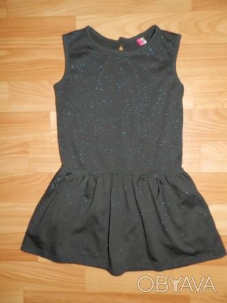 """Продам стильное французское """"маленькое чёрное платье"""" ORCHESTRA для модницы 3-4х. Южный, Одесская область. фото 1"""