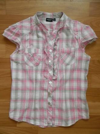 Фирменная летняя блуза, рубашка Kappahl р.140. Южний. фото 1