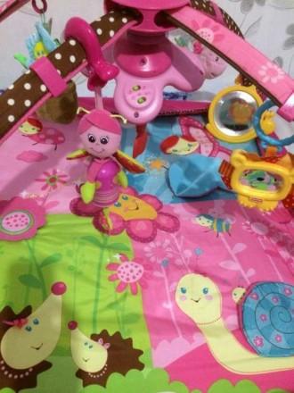 Развивающий коврик 5 в 1 Маленькая принцесса с новой системой крепления игрушек.. Київ, Київська область. фото 4