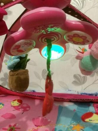 Развивающий коврик 5 в 1 Маленькая принцесса с новой системой крепления игрушек.. Киев, Киевская область. фото 6