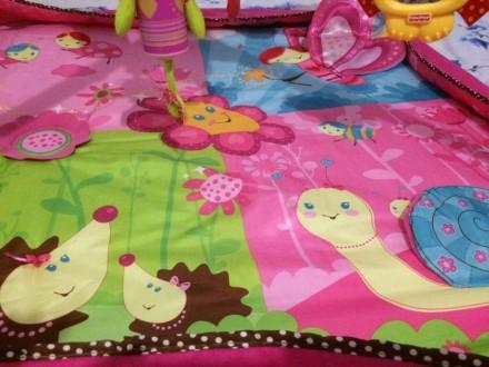 Развивающий коврик 5 в 1 Маленькая принцесса с новой системой крепления игрушек.. Киев, Киевская область. фото 5