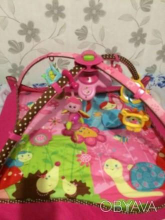 Развивающий коврик 5 в 1 Маленькая принцесса с новой системой крепления игрушек.. Киев, Киевская область. фото 1