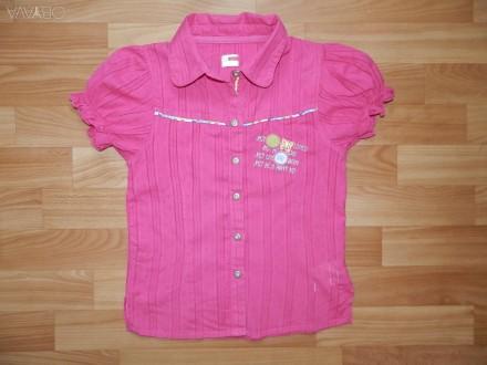 Яркая летняя блуза, рубашка Name it р.140. Южний. фото 1