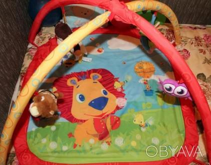 Коврик для ребенка от 0-10 месяцев,яркий и красочный что хорошо способствует раз. Сумы, Сумская область. фото 1