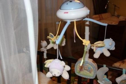 мобиль в очень хорошем состоянии, как новый, волшебные летающие мишки-ангелочки . Харьков, Харьковская область. фото 2