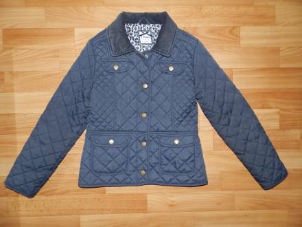 Стильная стёганная курточка Jasper Conran р.9-10 лет 140 см. Южний. фото 1