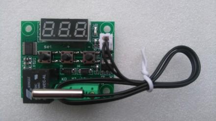 Регулятор температуры, термостат, терморегулятор W1209 -50..+110°C. Переяслав-Хмельницкий. фото 1