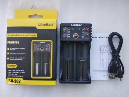 Зарядное устройство LiitoKala Lii-202 Powerbank. Переяслав-Хмельницкий. фото 1