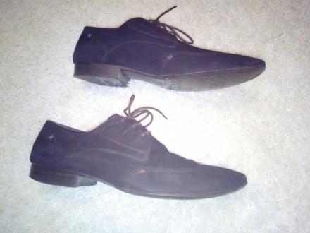 Отличные замшевые туфли коричневый насыщенный цвет 43 размер, немного полномерки. Чернігів, Чернігівська область. фото 6