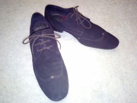 Отличные замшевые туфли коричневый насыщенный цвет 43 размер, немного полномерки. Чернігів, Чернігівська область. фото 5