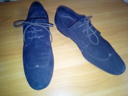 Отличные замшевые туфли коричневый насыщенный цвет 43 размер, немного полномерки. Чернігів, Чернігівська область. фото 3