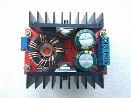 Повышающий Преобразователь 10-32В до 12-35В 6A 150Вт DC-DC Конвертер. Переяслав-Хмельницкий. фото 1