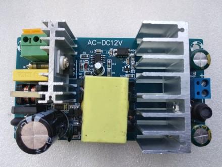 Импульсный блок питания AC 85-265V DC 12В 6-8А 100Вт. Переяслав-Хмельницкий. фото 1
