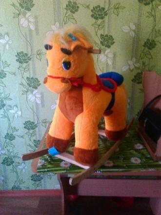 лошадка качалка. Каховка. фото 1