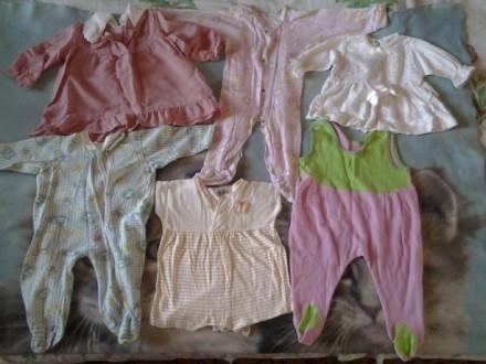 Детские вещи от 0 до 1 годика пакетом.. Чаплинка. фото 1