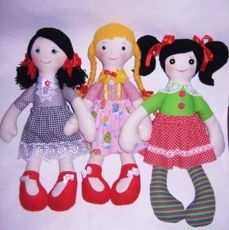 Мягкая детская кукла ручной работы. Мариуполь. фото 1