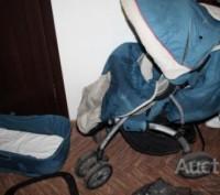 коляска+люлька переносная. Мелитополь. фото 1