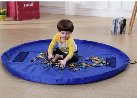 Игровой коврик-мешок , сумка для хранения игрушек 150. Киев. фото 1