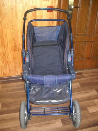 Детская коляска трансформер в отличном состоянии.. Сумы, Сумская область. фото 6