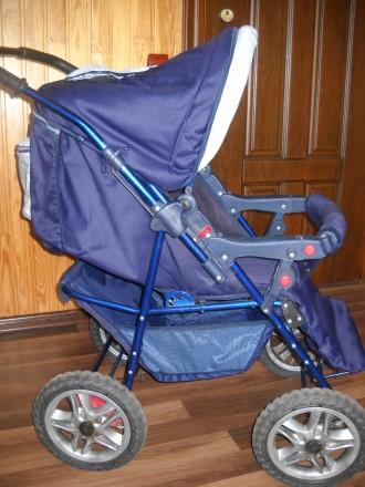 Детская коляска трансформер в отличном состоянии.. Сумы, Сумская область. фото 3