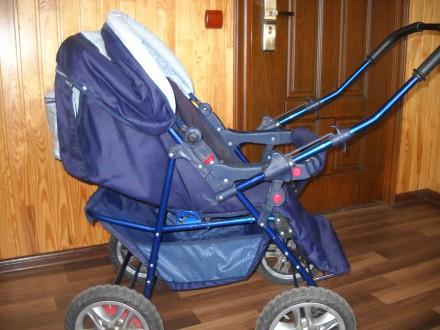 Детская коляска трансформер в отличном состоянии.. Сумы, Сумская область. фото 4