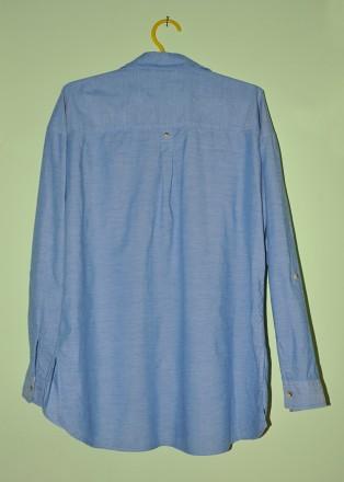 Фирменная, красивая и качественная рубашка F&F.  100% хлопок.  р. UK12. Пр. Ба. Черновцы, Черновицкая область. фото 5