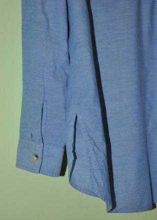 Фирменная, красивая и качественная рубашка F&F.  100% хлопок.  р. UK12. Пр. Ба. Черновцы, Черновицкая область. фото 6