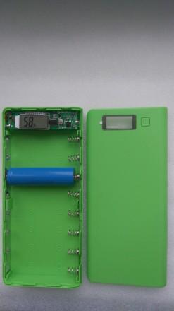 8х18650 Power Bank корпус, повер банк, портативное зарядное устройство. Переяслав-Хмельницкий. фото 1