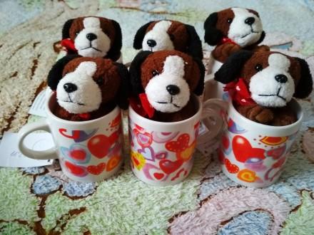 Детские чашки с подарочком. Звенигородка. фото 1