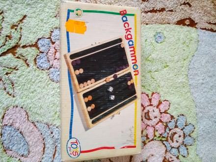 Настольная игра бакгаммон. Звенигородка. фото 1