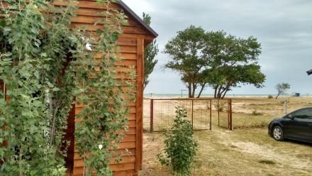 Аренда нового домика с условиями. Азовское море, Арабатская стрелка.. Геническ. фото 1