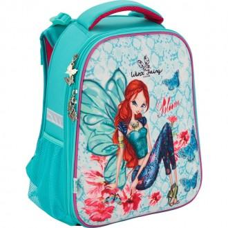 Рюкзак школьный каркасный Kite Winx. Кривой Рог. фото 1