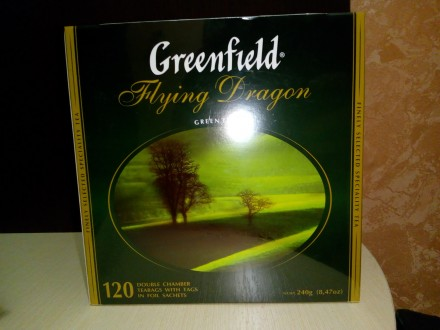 Чай Greenfield зеленый. Николаев. фото 1